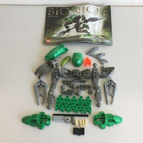 2003-100/% Complete Lego 8589 W// Manual Bionicle Rahkshi Lerahk