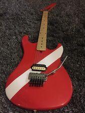 Kramer 84 Baretta buzo abajo la guitarra eléctrica Rojo, considere swaps