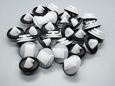 20x Zierleisten Clips für Peugeot 106 206 207 306 307 806 1007 Partner 856540