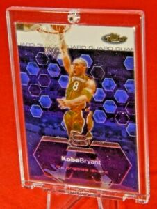 Topps-Finest-Kobe-Bryant-Los-Angeles-Lakers-Jersey-One-Hand-Thunder-Dunk-Rare