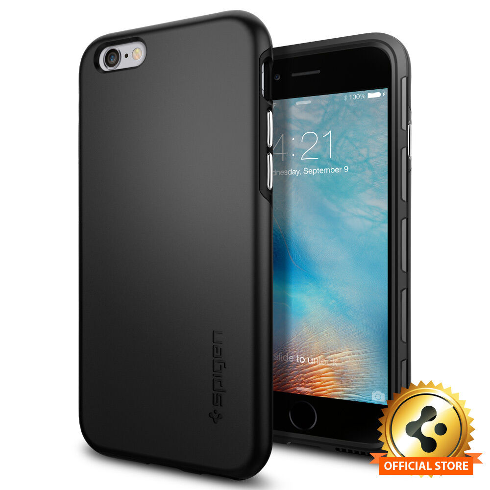newest 9c4e1 8f030 Spigen® [Thin Fit] iPhone 6s Case Ultra Slim Shockproof Cover