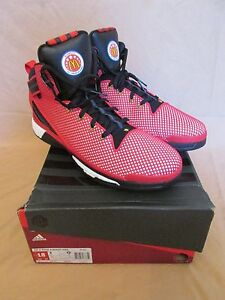 new product bae53 ea645 Image is loading New-Adidas-D-Rose-6-Boost-McDonald-039-