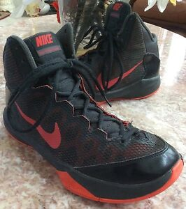 95a75ca8ba0fb Nike Zoom Without A Doubt Men s Black Red Basketball Shoes Size 8.5 ...