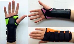 Coloured-Neoprene-Wrist-Brace-Support-Carpal-Tunnel-Splint-Sprain-RSI-Arthritis