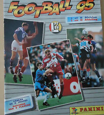 PANINI FOOTBALL 1995 album foot BELGIE BELGIQUE BELGIUM complete