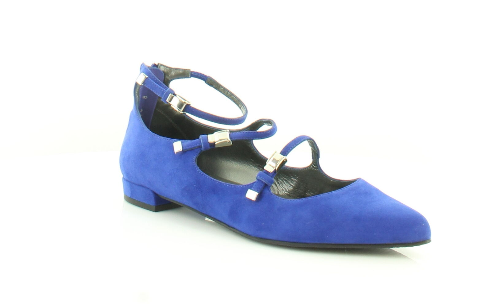 Stuart Weitzman New Flippy Blue Womens Shoes Size 8 M Flats MSRP $398
