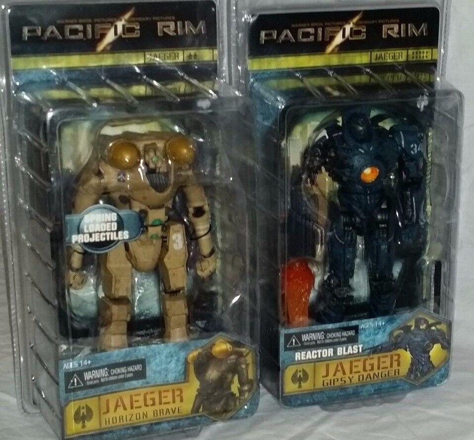 NECA Pacific Rim Jaeger HORIZON BRAVE GIPSY DANGER REACTOR BLAST Series 6 set