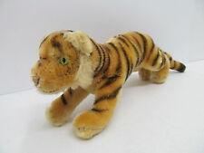 MES-45194 Älterer Steiff Tiger L:ca.22cm,Mohair mit Holzwollstopfung,