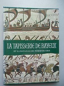 La-Tapisserie-de-Bayeux-et-la-bataille-du-Pommier-gris-1983-Teppich-Schlacht
