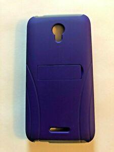 ALCATEL-VERSO-Cell-Phone-Case-Kickstand-Purple-Gray