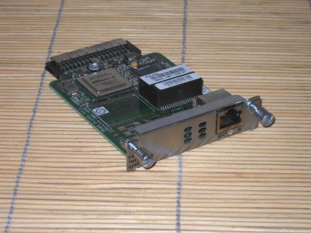 Cisco VWIC3-1MFT-G703 1-Port 3rd Gen Multiflex Trunk Voice/WAN Int. Card-G.703