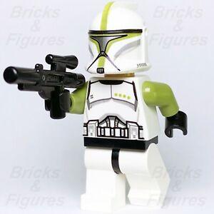 Nuevo-Star-Wars-Lego-Verde-fase-1-Clone-Trooper-Sargento-Minifig-75000-Genuino