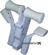Saitek un solo brazo doble asas Add-on Kit V2 (Blanco)
