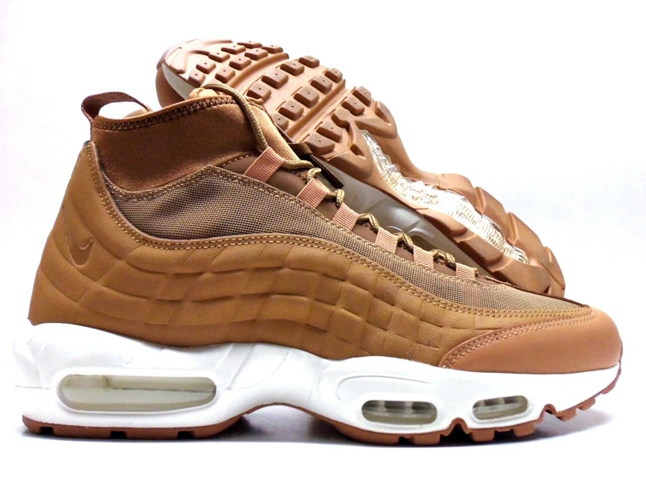 the latest 0e4ae bed3d ... italy nike air brown sail max 95 sneakerboot flax flax ale brown sail  79c9a cf264