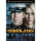 Homeland The Complete First Season 4 Discs (2012 Region 1 DVD New) WS