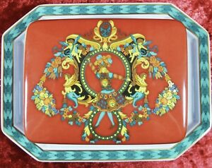 VERSACE-Butter-dish-covered-KING-SUN-LE-ROI-Discontinued-SALE