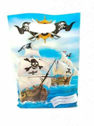 Childrens Kids Girls Boys Unisex Empty Themed Party Bags Hero Unicorn Pirate