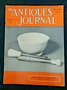 Antiques-Journal-1962-Fairy-Lamps-Night-Lights-Canes-Mortars-Pestles-Butter-Make