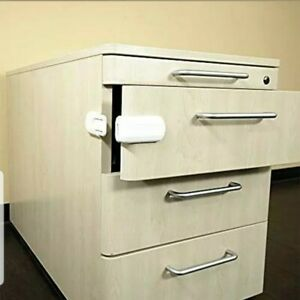 6x Invisible Safety Baby Cupboard Drawers Lock Door Child Baby Pet Proof