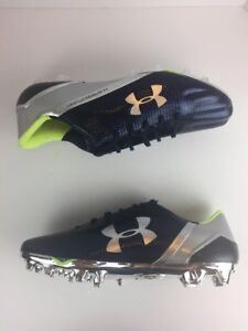 NEW Under Armour Nitro Low MC Green//Black Cleats Men/'s Size 16