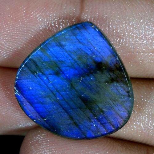 100/% Natural Natural Blue Fire Labradorite Cabochon Multi Flash Gemstone JJGG0