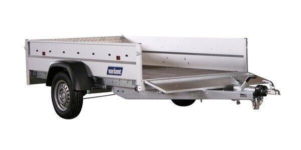 Ladtrailer, Variant 1304 F1 m/tip, lastevne (kg): 1095