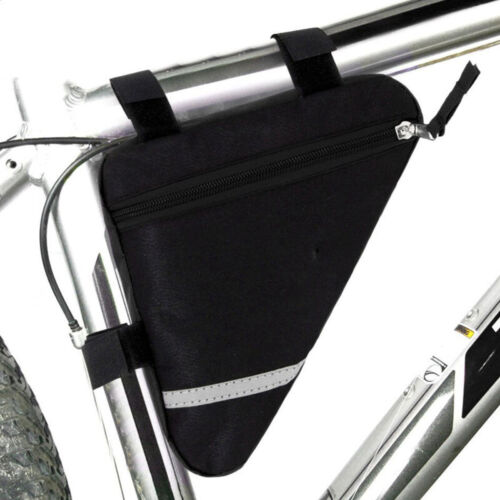 Waterproof Triangle Cycling Bikes Bicycle Front Tube Frame Pouch Saddle Bag New