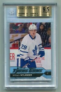 2016-17-UD-Series-Two-Young-Guns-249-William-Nylander-RC-Rookie-BGS-9-5