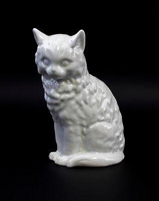 9944285 Kämmer Porcellana Personaggio Gatto Bianco H17, 5cm- Una Grande Varietà Di Modelli