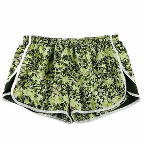 Under-Armour-Heatgear-Womens-Semi-Fitted-Running-Shorts-Liner-Green-Size-Large