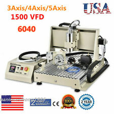 New Listingcnc Router 3axis 4axis5axis 3d 6040 Engraving Milling Machine Metalworking Us
