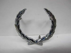 Cadillac Chrome Wreath Pillar EMBLEM