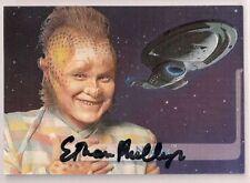 Star Trek Auto Signed Voyager Season 2 E9 Neelix Ethan Phillips v23