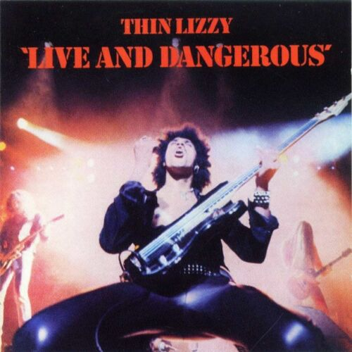 1 of 1 - THIN LIZZY Live And Dangerous CD BRAND NEW Phil Lynott