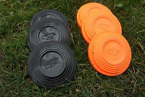 Standard Clay Pigeon Targets Clays Black Orange Clay