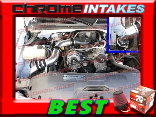 K/&N+BLACK RED 99-07 CHEVY SILVERADO//GMC SIERRA 1500 4.3L V6 COLD AIR INTAKE KIT