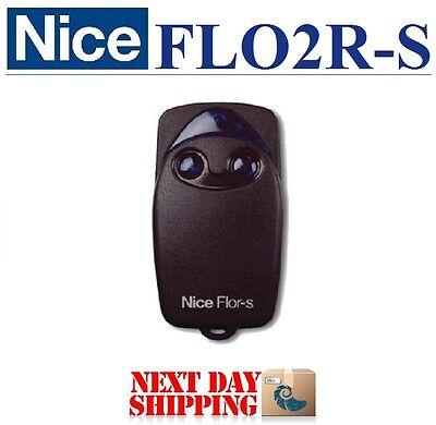 NICE FLOR Handsender Nice FLO2R-S oder Nice FLO4R-S 2,4 Kanal 433,92Mhz