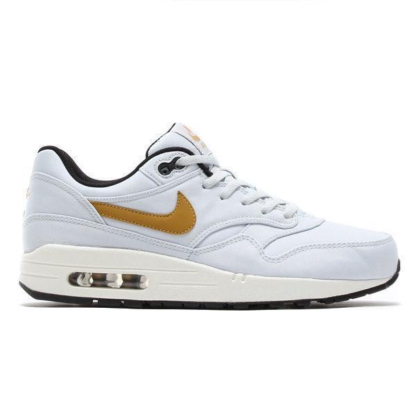 premium selection 70e7d 39f2c Nike Air Max 1 PRM QS Trainers  pure Platinum  3 4 5.5 90 95 97 Triple  Huarache UK 3- EU 35.5 Pure Platinum for sale online   eBay