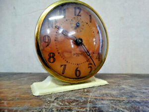 Vintage Ingraham ACE Windup Alarm Clock