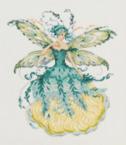 Mirabilia NC March Aquamarine Fairy Cross Stitch Pattern MD159 Pub Aug 2018