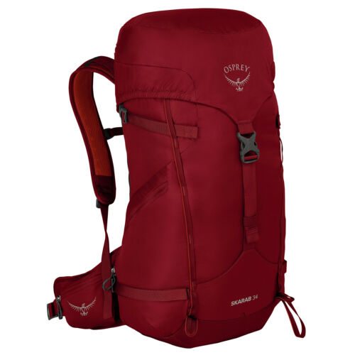 Mystic Red One Size Osprey Skarab 34 Rucksack Hiking Backpack