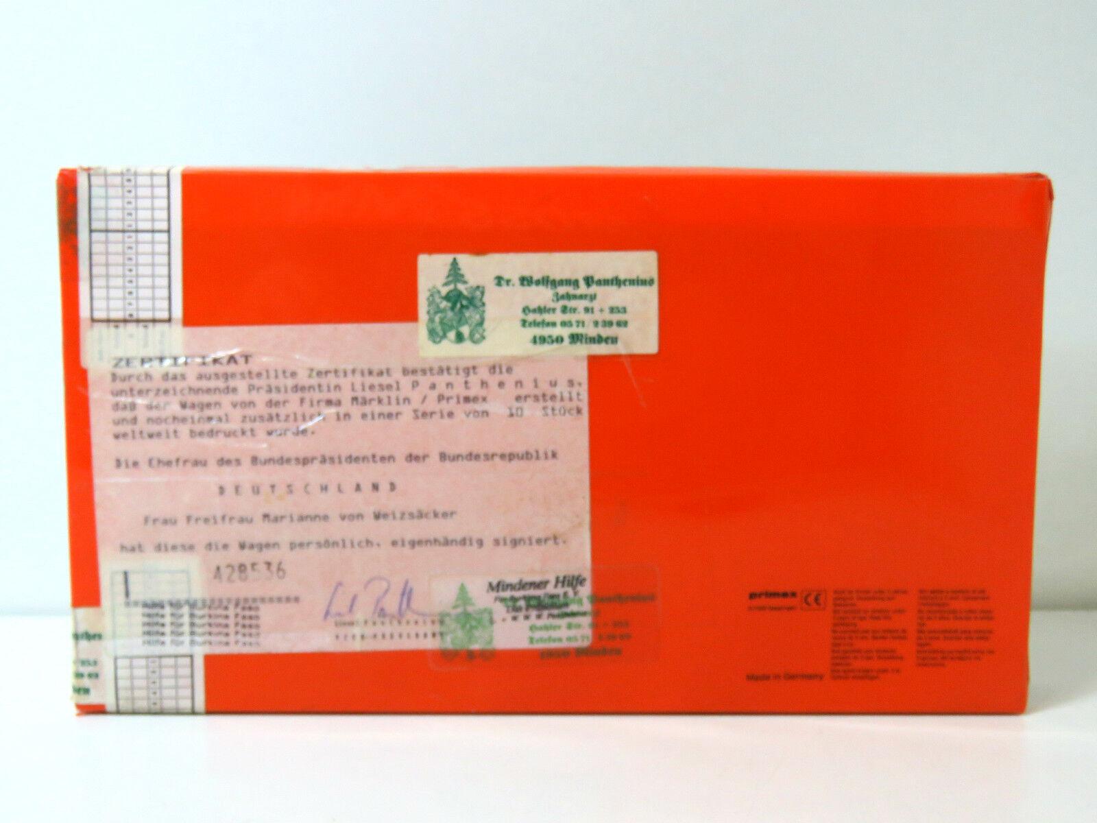 Rareza  ayuda para burkina faso, Marianne V Weizsäcker, lim.10 St, primex ho, UW