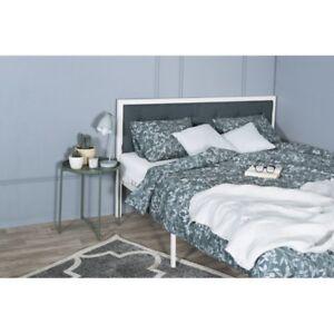 Schlafzimmer Industrial | Metallbett Loft 160x200 Weiss Ehebett Schlafzimmer Industrial