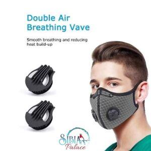 Melbourne-Adult-3-Pcs-Washable-Reusable-PM2-5-Face-Mask-amp-2-Respirator-Filter-Au