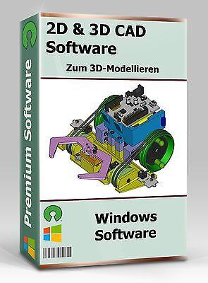 2d & 3d Cad Software / Cad Programm / Zum Erstellen Von 3d-modellen - Sofort
