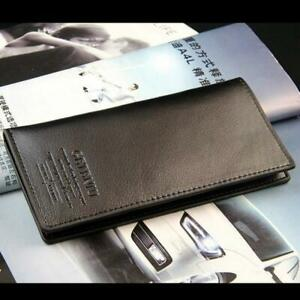 Fashion-Pockets-Credit-Card-Holder-Bifold-Long-Wallet-Clutch-Leather-Purse