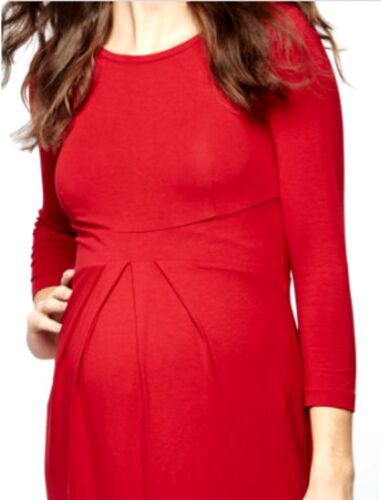 Stretch 36 Neuf A Corail Grossesse Rouge T2 In Isabella Oliver The Robe Pea Pod hQCtrsdx
