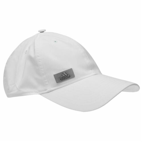 Mens 2019 Genuine Adidas Curved Peak Metal Logo Cap Hat Base-Ball Cap
