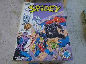 SPIDEY-n-62-tres-bon-etat-comme-neuf-Le-journal-de-SPIDER-MAN-de-1985