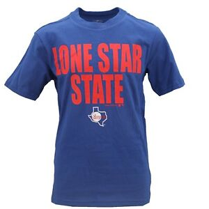 39dc8123 Details about Texas Rangers Official MLB Genuine Apparel Kids & Youth Size  T-Shirt New Tags